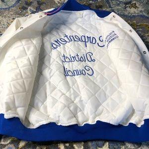 Vintage Jackets & Coats - VTG Political Action Committee Carpenters jacket